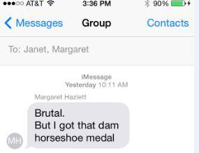 Margaret's text2
